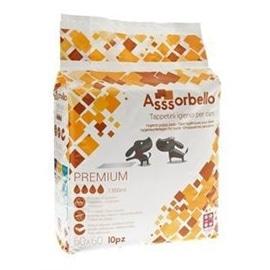 Axis-Biozoo Asssorbello tapetes higiénicos com adesivos e feromonas - 60x90 - TRI0273