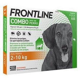 Frontline Combo Raça Pequena 2-10 Kg - 1 Pipeta - 2-10 Kgs - HE1110280