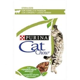Cat Chow Sterilized Borrego e Feijão Verde - NE12404041