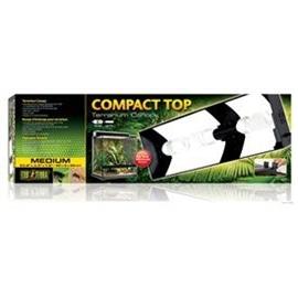 Exo Terra Tampa Para Tubos Fluorescente Compacto De Terrario - TRPT2227