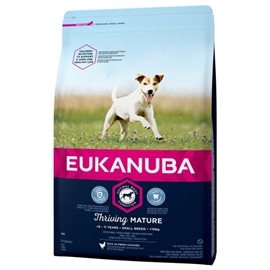 Eukanuba Mature & Senior Raças Pequenas - 3 Kgs - EUK5865
