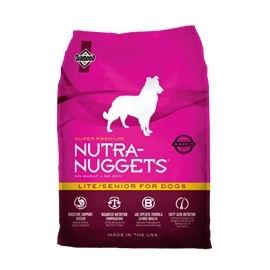 NUTRA NUGGET LITE/SENIOR - 3 KGS - HE1176875