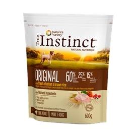 INSTINCT DOG ORIGINAL MINI ADULT CHICKEN - 0.600 KGS - AFF922516