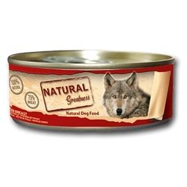 Natural Greatness Comida úmida de peito de frango para cães - GENGWD-UP-5