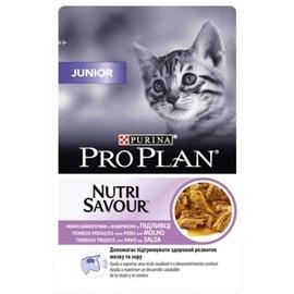Pro Plan Pack 24 Nutrisavour saquetas para gato Junior Delicate com peru - 2 Kgs - NE12339041