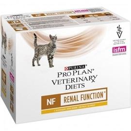 Pro Plan Veterinary Diets Feline NF Renal Function Pouch Frango - 0,800 Kgs - NE12278375