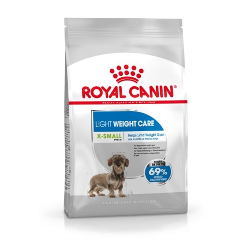 Royal Canin X-Small Light Weight Care - 1,5 kgs - RC1230200