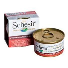 Schesir Pack 14 Cat atum, vaca e arroz - HE1958015