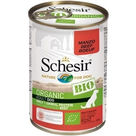 Schesir Pack 6 Bio para cães lata Vaca - HE1958352