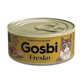 GOSBI FRESKO CAT ATUM COM SALMAO & PAPAIA 70 GRS - GOS98