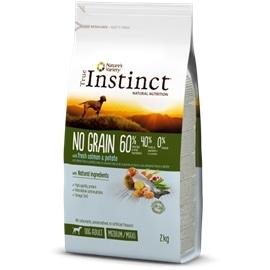 True Instinct Cão No Grain Salmão - 12 kgs - AFF922529