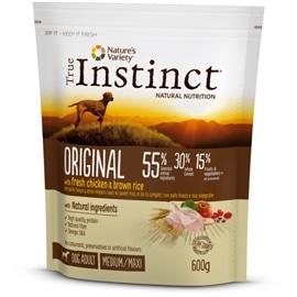 True Instinct Original Frango com arroz integral Medium/Maxi - Adult - 12 kgs - AFF922513