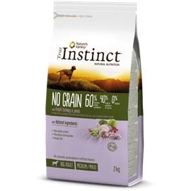 True Instinct Tind No Grain Med Adult Peru - 12 kgs - AFF923974