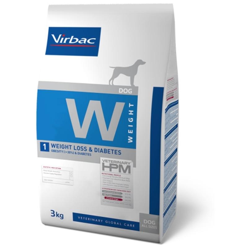 Virbac Loss & Diabetes HPM Veterinaria W1 Peso - 12 Kgs - HE1005722