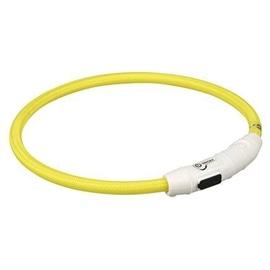 Trixie Colar Luminoso Flash Light Usb M-L 45 cm - (M-L) 45CM (LARANJA) - OREXTX12704