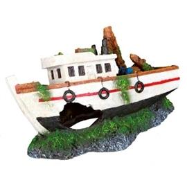 Trixie Decorativas para Aquario Barco de Pesca em Poliresina - OREXTX87818
