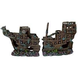 Trixie Decorativas para Aquario Galeao - GRANDE 57CM - OREXTX8744