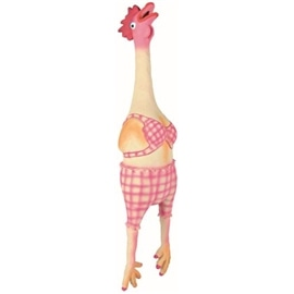 Trixie Galinha Vestida com Som Original Latex 48 cm - OREXTX35495