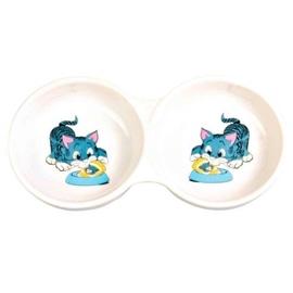 Trixie Gamela Dupla em Ceramica para Gatos 2x150 ml - OREXTX4014