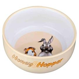 """Trixie Gamela em Ceramica """"Honey & Hopper"""" 11 cm / 250 ml - OREXTX60808"""