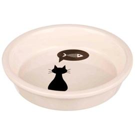 Trixie Gamela em Ceramica 0,25 L / Ø 13 cm Branco - OREXTX24499