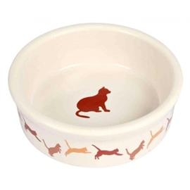 Trixie Gamela em Ceramica com Motivos para Gato 250 ml/11 cm - OREXTX4019