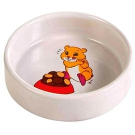 Trixie Gamela em Ceramica com Motivos para Hamsters 90 ml - 90ML (ø8CM) - OREXTX6062