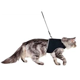 Trixie Peitoral e Trela Xcat Nylon para Gatos 36-54 cm - 36-54CM - OREXTX41895
