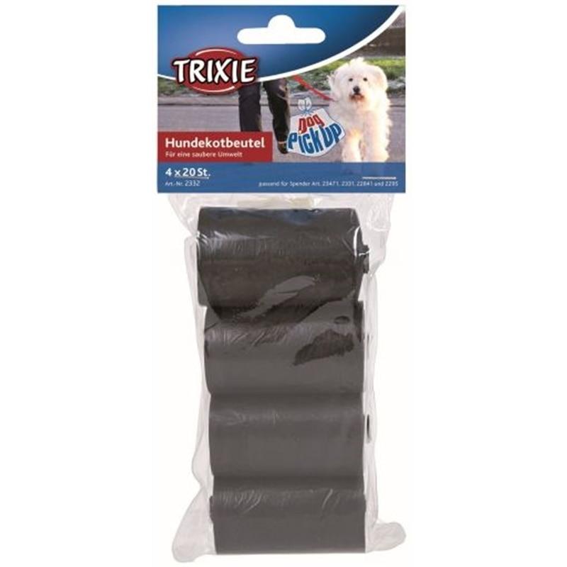 Trixie Sacos de Substituiçao para Dejetos 4 Rolos com 20 Unidades - OREXTX2332