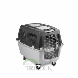 "Trixie Transportadora ""Gulliver V"" Cinza Claro/Cinza - GULLIVER V (25KG) 58 x 60 x 79CM - OREXTX39872"