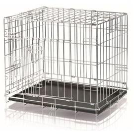 Trixie Transportadora Arame com Duas Portas para Cães e Gatos 64x54x48 cm - 64 x 54 x 48CM - OREXTX3922