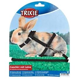 Trixie Trela + Peitoral para Coelhos Anoes e Porquinhos Da India - OREXTX6150