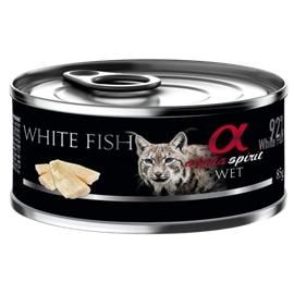 Alpha Spirit Pack 18 Comida de gato de peixe molhado - GEALP-WETC-01-008
