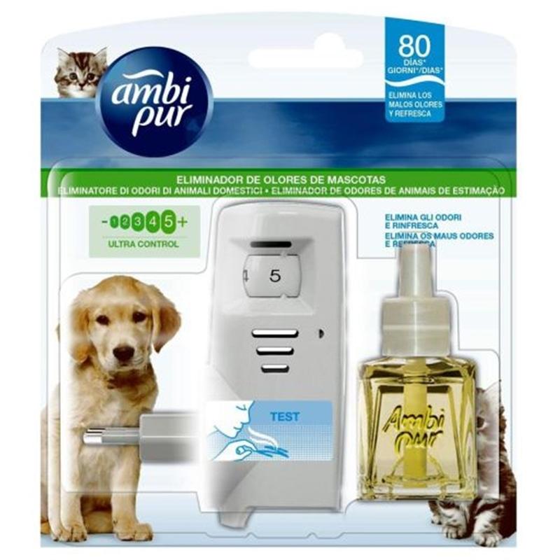 Ambipur Difusor+recarga contra odores de animais para casa - HE1004902