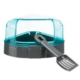 Trixie WC Angular com Cobertura e Pa para Hamsters - OREXTX6256