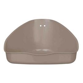 Trixie WC de Canto com Suporte para Coelhos e Porquinhos Da India - 36 x 21 x 30CM - OREXTX62551