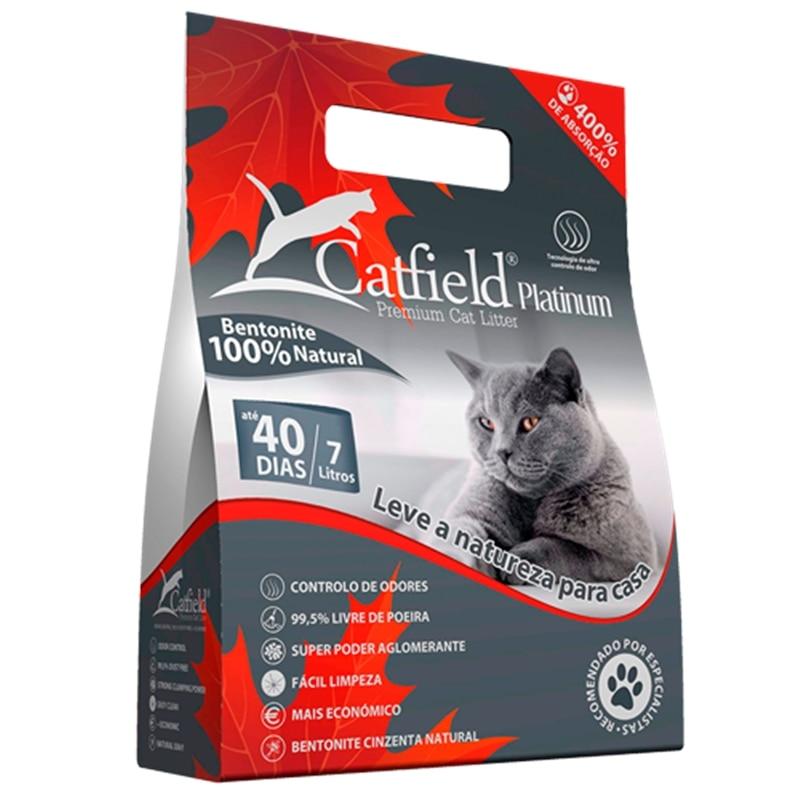 Catfield Premium Cat Litter Platinum - GECATFLD0005-1
