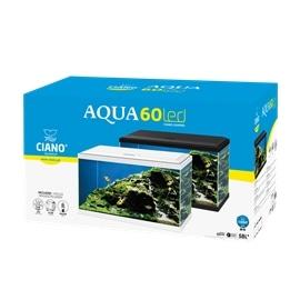 Ciano Aquário Aqua 60 Led - Branco - 60 Cm - AC540227