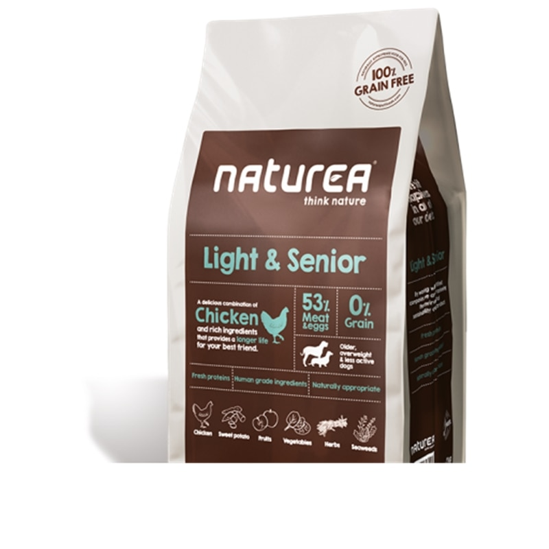 Naturea Light & Senior - 12 Kgs - NAT0042