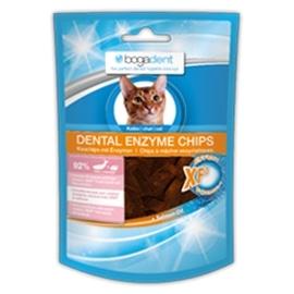 Bogar Bogadent dental enzyme chips para gato sabor a peixe 50gr - 3830