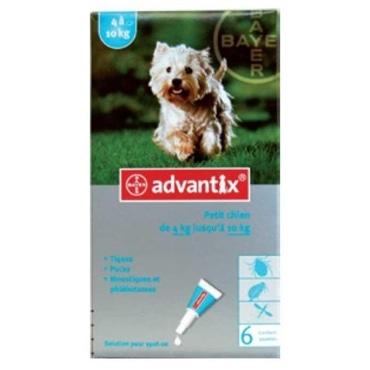Advantix Pipetas Anti-parasitárias 100