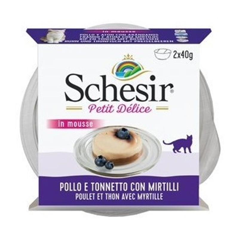 Schesir Atum Petit Delice com Frango e Mirtilos - HE01069011