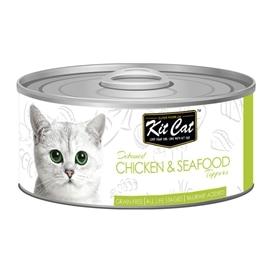 KitCat CHICKEN & SEAFOOD 80g - GEKC-2180
