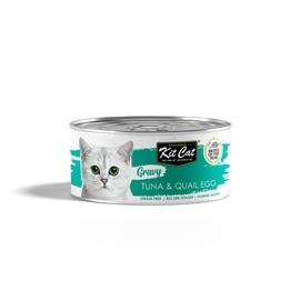 KitCat Gravy TUNA & QUAIL EGG 70g - GEKC-3170