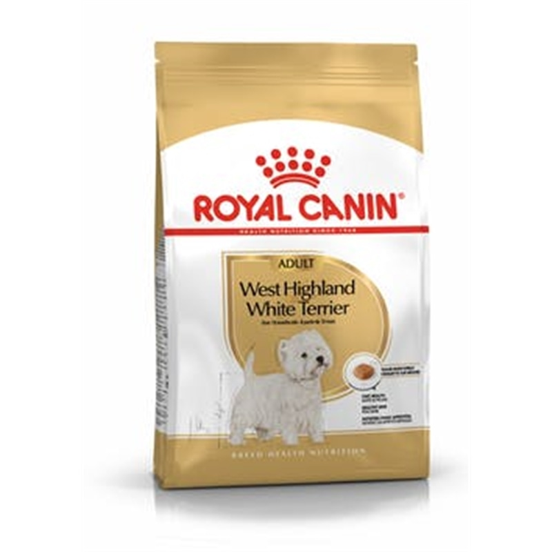 ROYAL CANIN WEST HIGHLAND WHITE TERRIER ADULT - 1.5 KGS - RC352135260