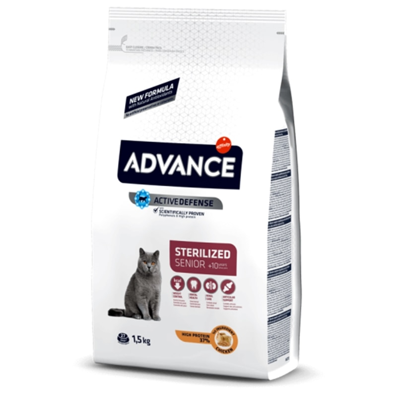 Advance Sterilized +10 - 1,5 kgs - AFF921508